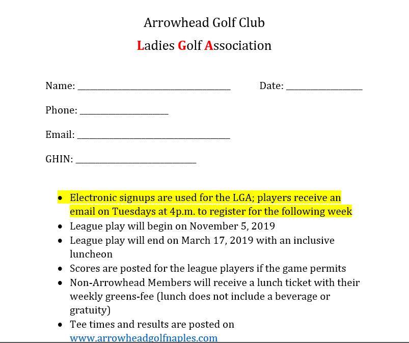 LGA Membership Application 1
